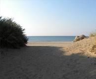 seaside campsite  Sérignan