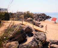 seaside campsite  Vias-Plage
