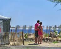 seaside campsite  Marseillan-Plage