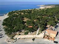 seaside campsite  Martigues