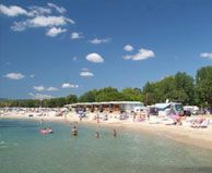 seaside campsite  Port-Grimaud