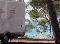 camping bord de mer  Saint-Raphaël, Agay