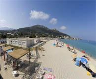 seaside campsite  Algajola