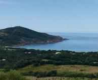 seaside campsite  Cargèse