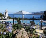seaside campsite  Calcatoggio