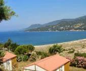 seaside campsite  Propriano