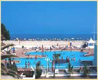 seaside campsite  Ghisonaccia