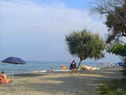 seaside campsite  Aléria