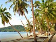 seaside campsite  Huahine