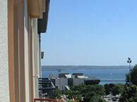 hotel with sea view abalys-brest