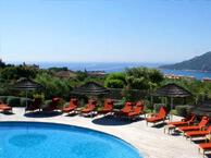 hotel with sea view alivi-porto-vecchio