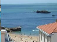 hotel with sea view alizes-biarritz