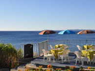 hotel with sea view astria-beach-le-lavandou