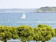 hotel with sea view bains-locquirec