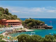 hotel with sea view beach-roquebrune