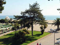 hotel with sea view beau-rivage-argeles