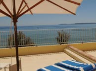 hotel with sea view beau-rivage-lavandou