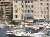 hotel with sea view bellevue-marseille