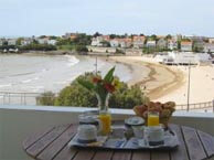 hotel with sea view bellevue-royan