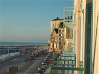 hotel with sea view bellevue_mers_les_bains
