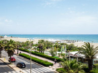 hotel with sea view best-western-canet