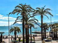 hotel with sea view bleu-rivage-cannes