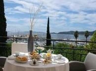 hotel with sea view calanque-lavandou