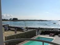 hotel with sea view castel-ach-plouguerneau
