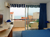 hotel with sea view centre-plage-argeles
