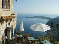 hotel with sea view chateau_eza