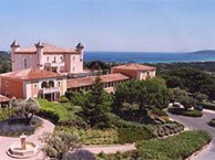 hotel with sea view chateau_messardiere_st_tropez