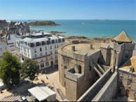 hotel with sea view chateaubriand-st-malo