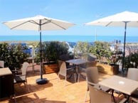 hotel with sea view corniche-st-hilaire