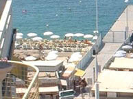 hotel am meer courbet-juan-les-pins