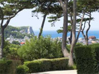 hotel with sea view domaine_st_clair_etretat