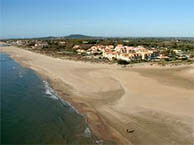 hotel with sea view dunes-marseillan
