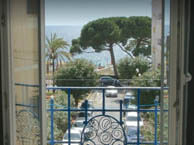hotel with sea view eden-juan-les-pins