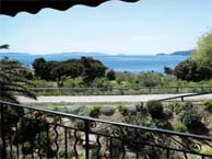hotel with sea view fossette-lavandou