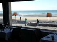 hotel with sea view hotel-de-la-plage-quiberville