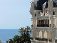 hotel with sea view hotel-de-paris-monaco