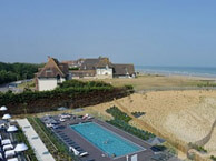 hotel with sea view hotel-les-bains-cabourg