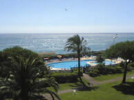 hotel with sea view hotel_bahia_villeneuve_loubet