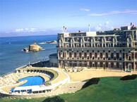 hotel with sea view hotel_palais_biarritz