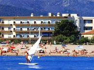hotel with sea view hotel_plage_pins_argeles