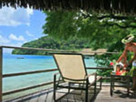 hotel with sea view huahine-te-tiare-beach-resort-huahine
