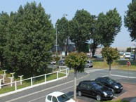 hotel with sea view ibis-ouistreham