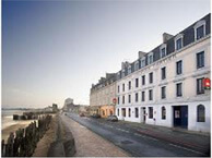 hotel with sea view ibis_plage_st_malo