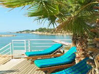 hotel with sea view ile_rousse_bandol