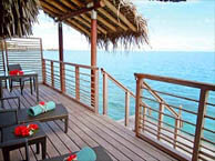 hotel with sea view intercontinental_thalasso_bora_bora