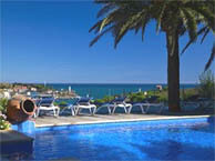 hotel with sea view jardin-cedre-portvendres
